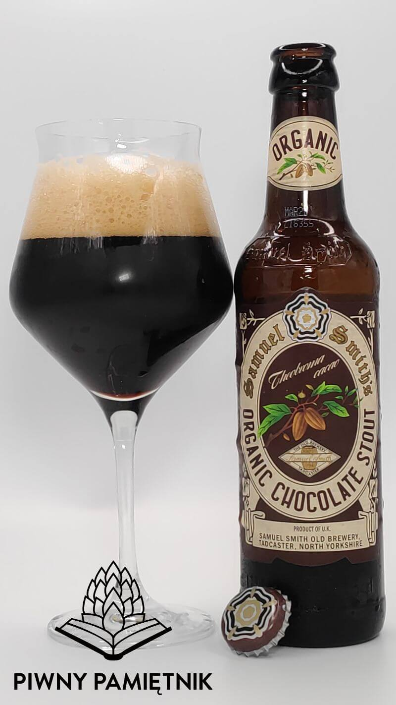 Samuel Smith's Organic Chocolate Stout z Browaru Samuel Smith (Tadcaster – Anglia)