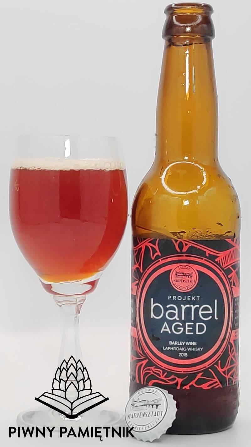 Barley Wine Laphroaig Whisky 2018 z serii Projekt Barrel Aged z Browaru Maryensztadt