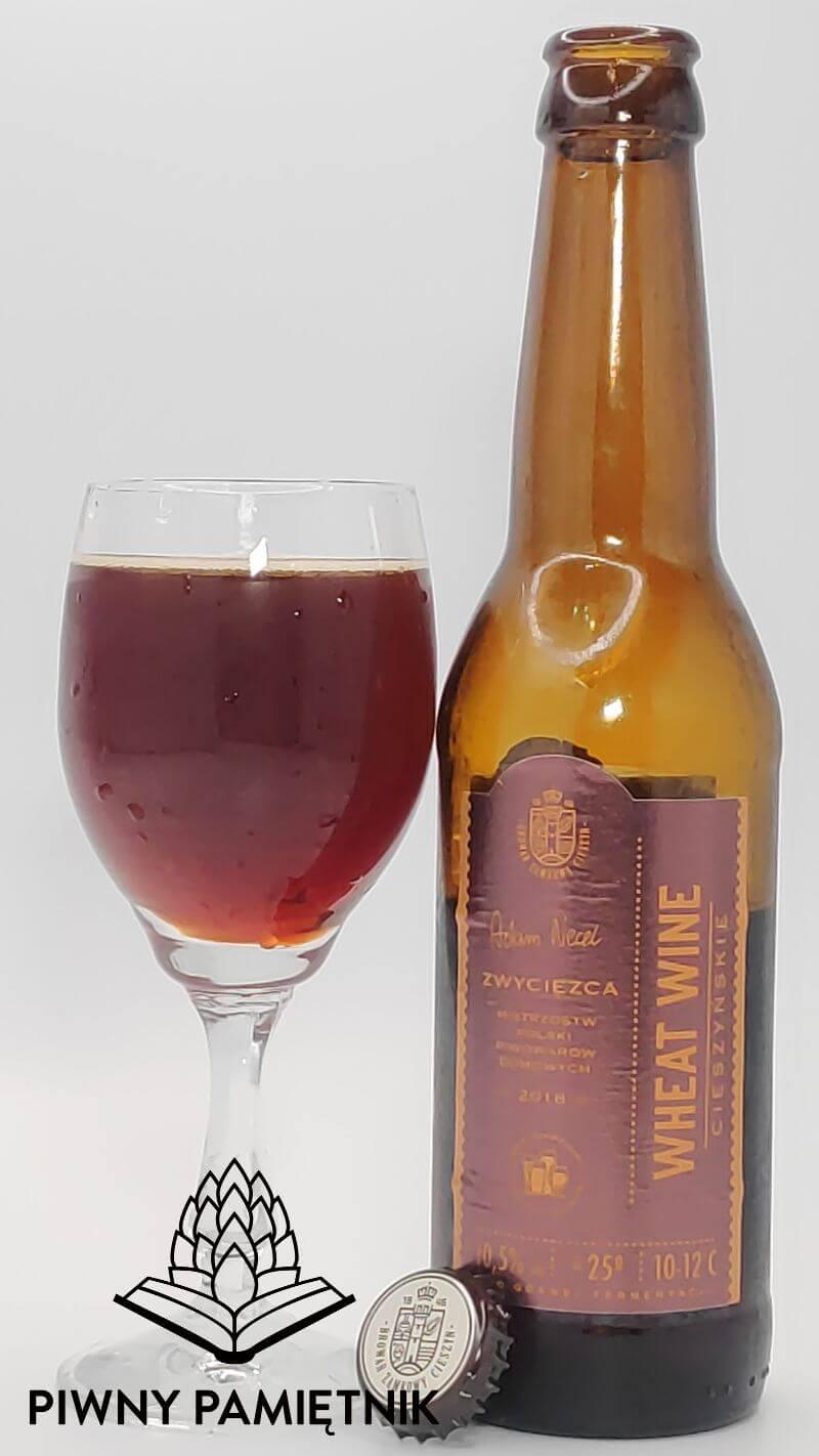 Cieszyńskie Wheat Wine z Browaru Zamkowego Cieszyn