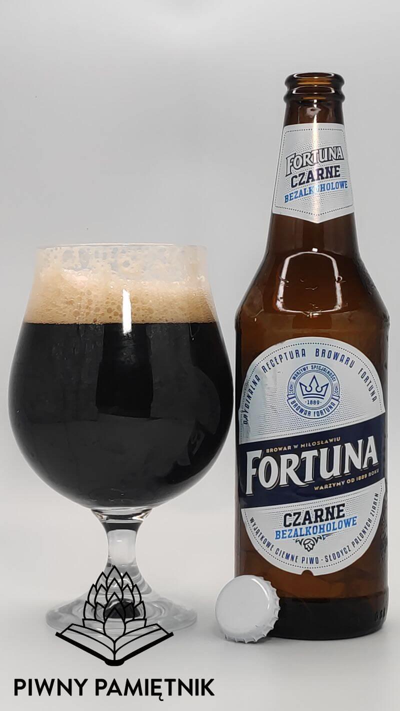 Fortuna Czarne Bezalkoholowe  z Browaru Fortuna