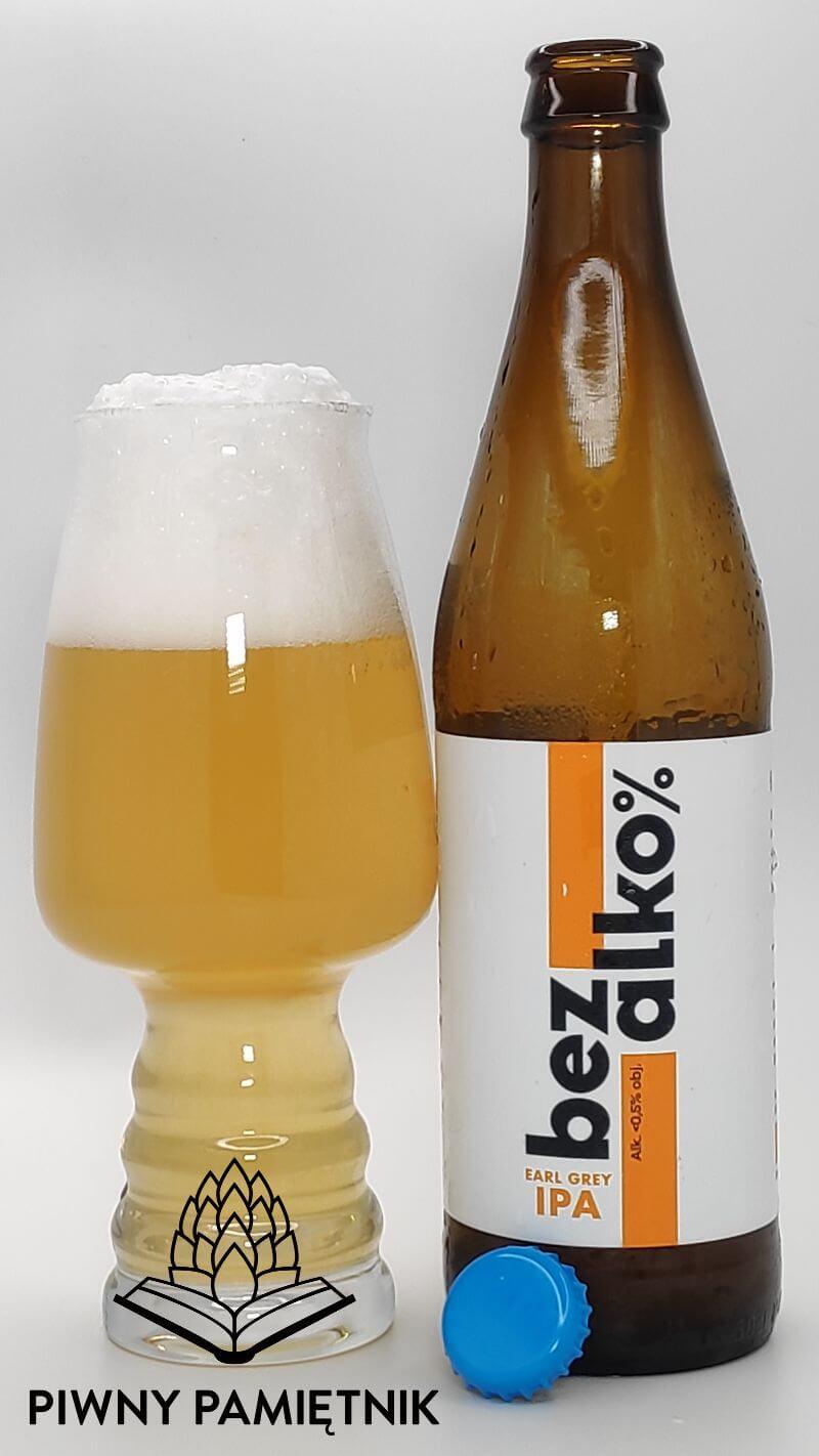 bezalko% Earl Grey IPA z Browaru Błonie
