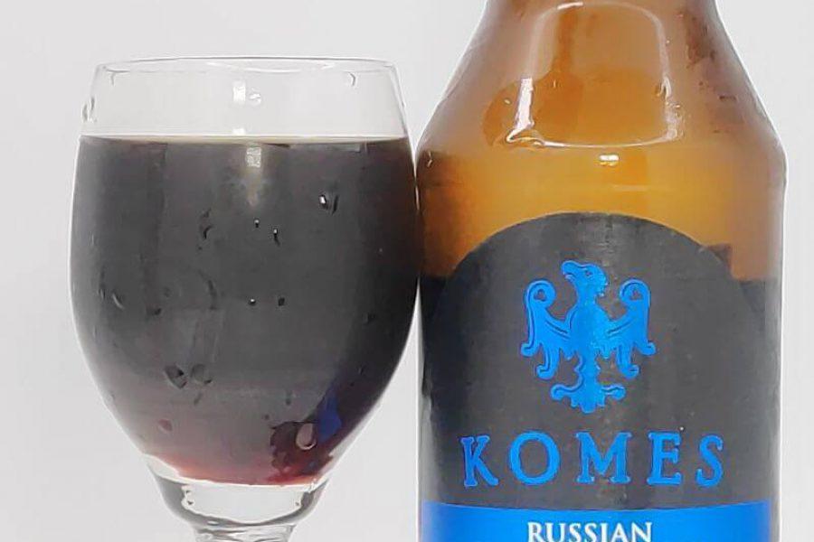 Komes Russian Imperial Stout 2020 z Browaru Fortuna