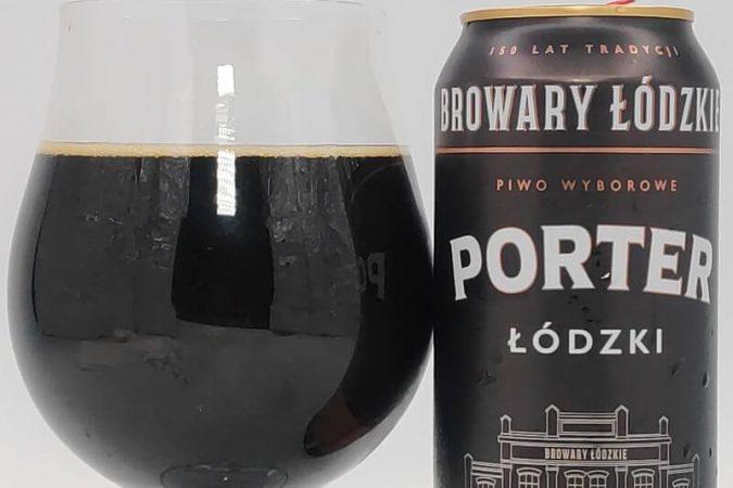 Porter Łódzki z Browarów Łódzkich