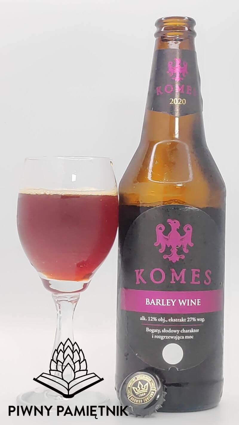 Komes Barley Wine 2020 z Browaru Fortuna