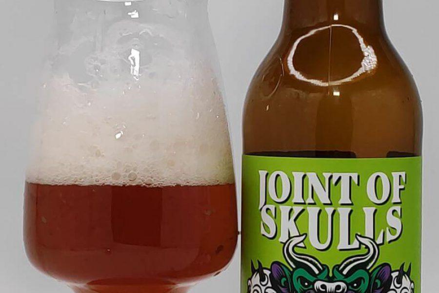 Joint Of Skulls West Coast IPA with Roasted Hemp Seeds z kooperacji Browaru AleBrowar i Browaru Christiania Bryghus (Kopenhaga – Dania)