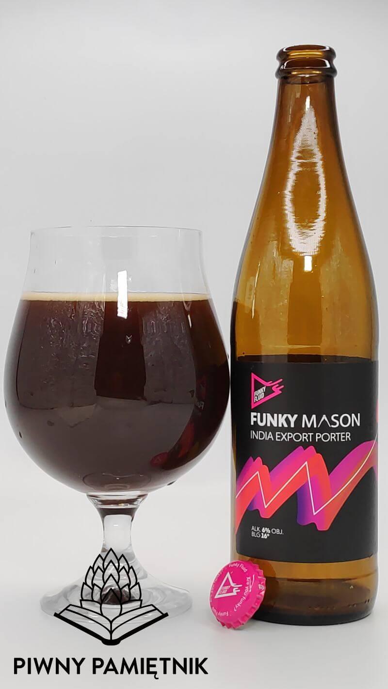 Funky Mason z kolaboracji Marcina Masona Chmielarza i Browaru Funky Fluid