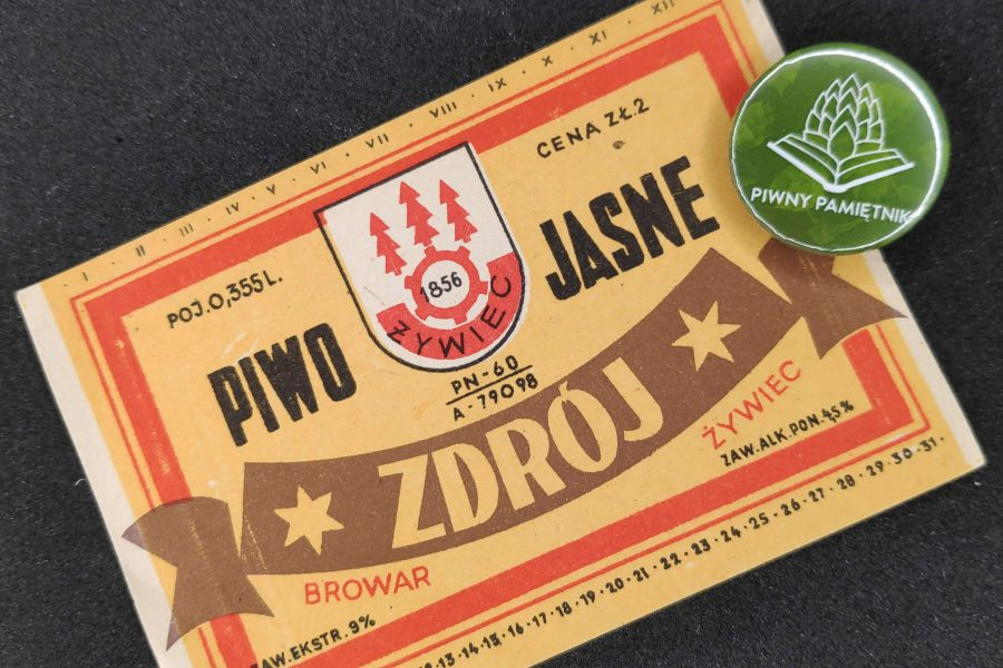 Zabytkowe Etykiety Polskich Piw #0001: Browar Żywiec #01