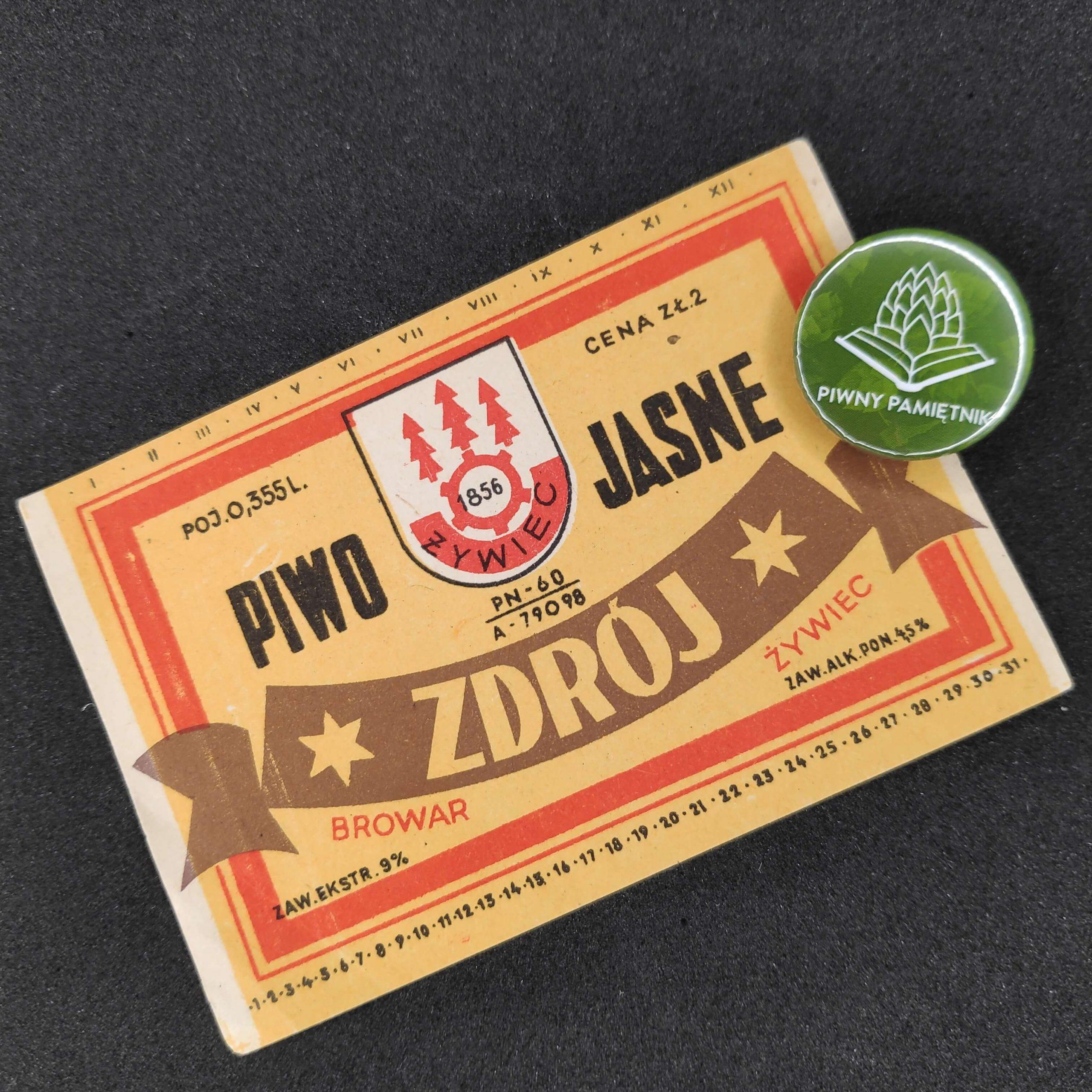 Zabytkowe Etykiety Polskich Piw #0001: Browar Żywiec #001