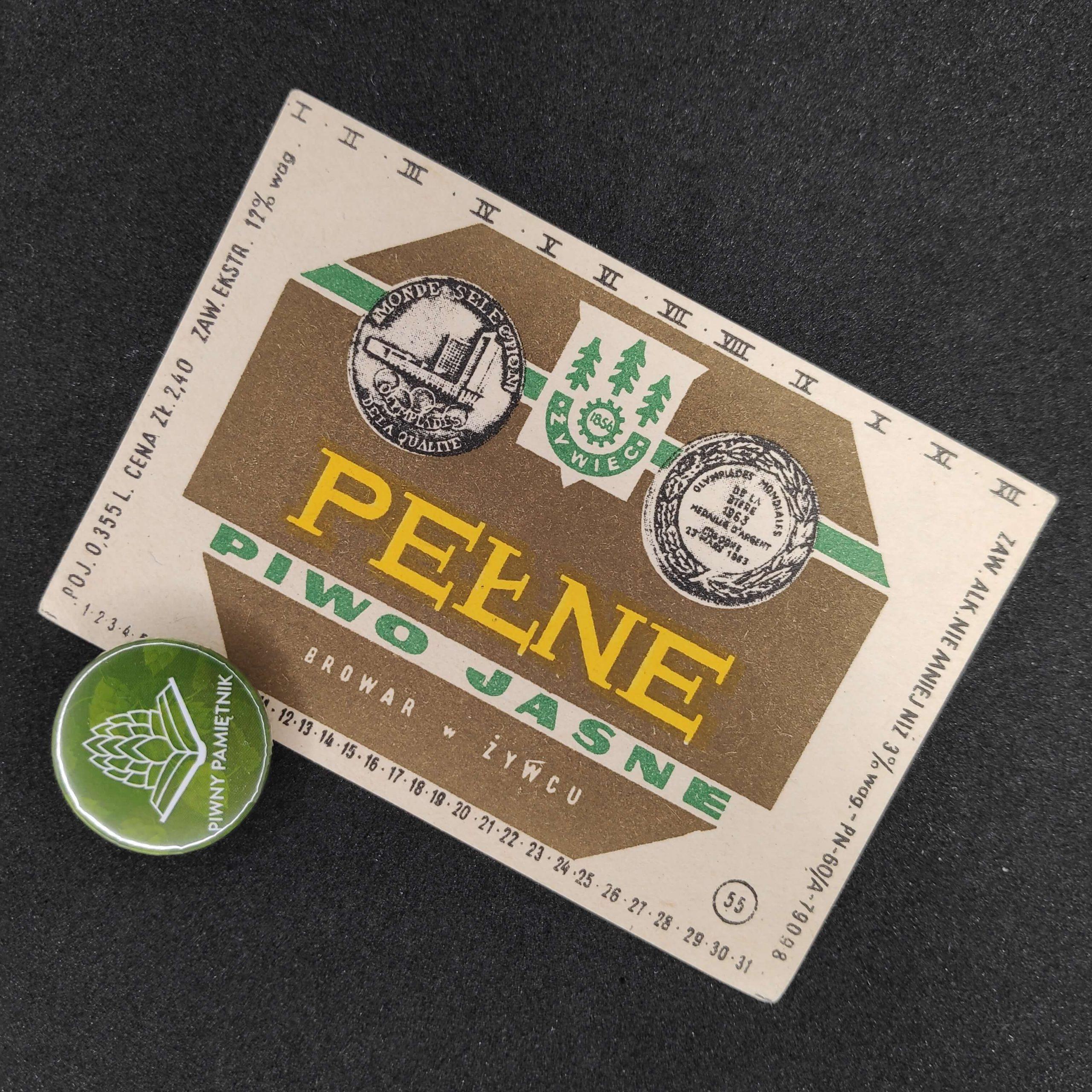 Zabytkowe Etykiety Polskich Piw #0002: Browar Żywiec #002