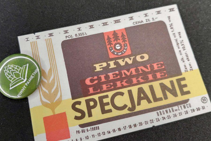 Zabytkowe Etykiety Polskich Piw #0003: Browar Żywiec #003