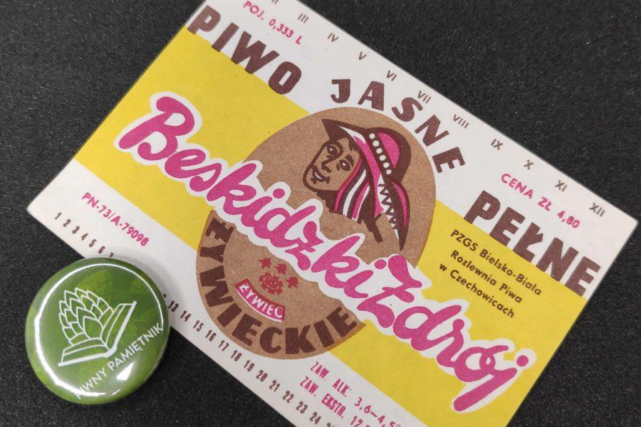 Zabytkowe Etykiety Polskich Piw #0005: Browar Żywiec #005