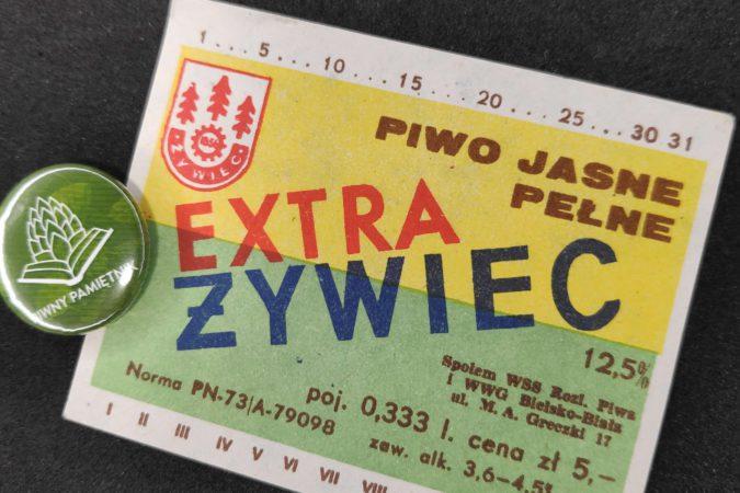 Zabytkowe Etykiety Polskich Piw #0006: Browar Żywiec #006