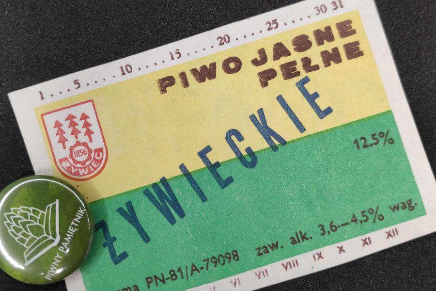 Zabytkowe Etykiety Polskich Piw #0007: Browar Żywiec #007