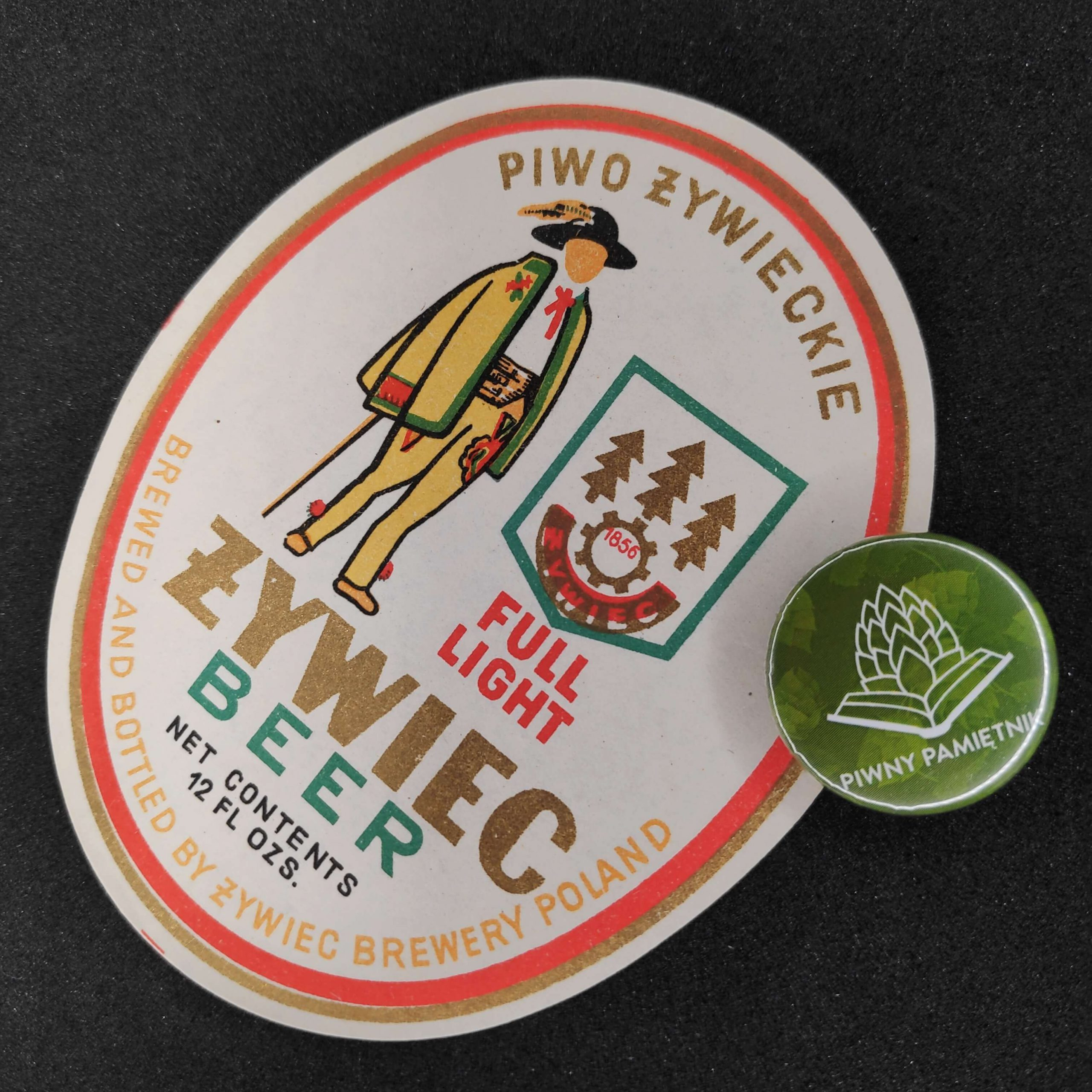 Zabytkowe Etykiety Polskich Piw #0009: Browar Żywiec #009