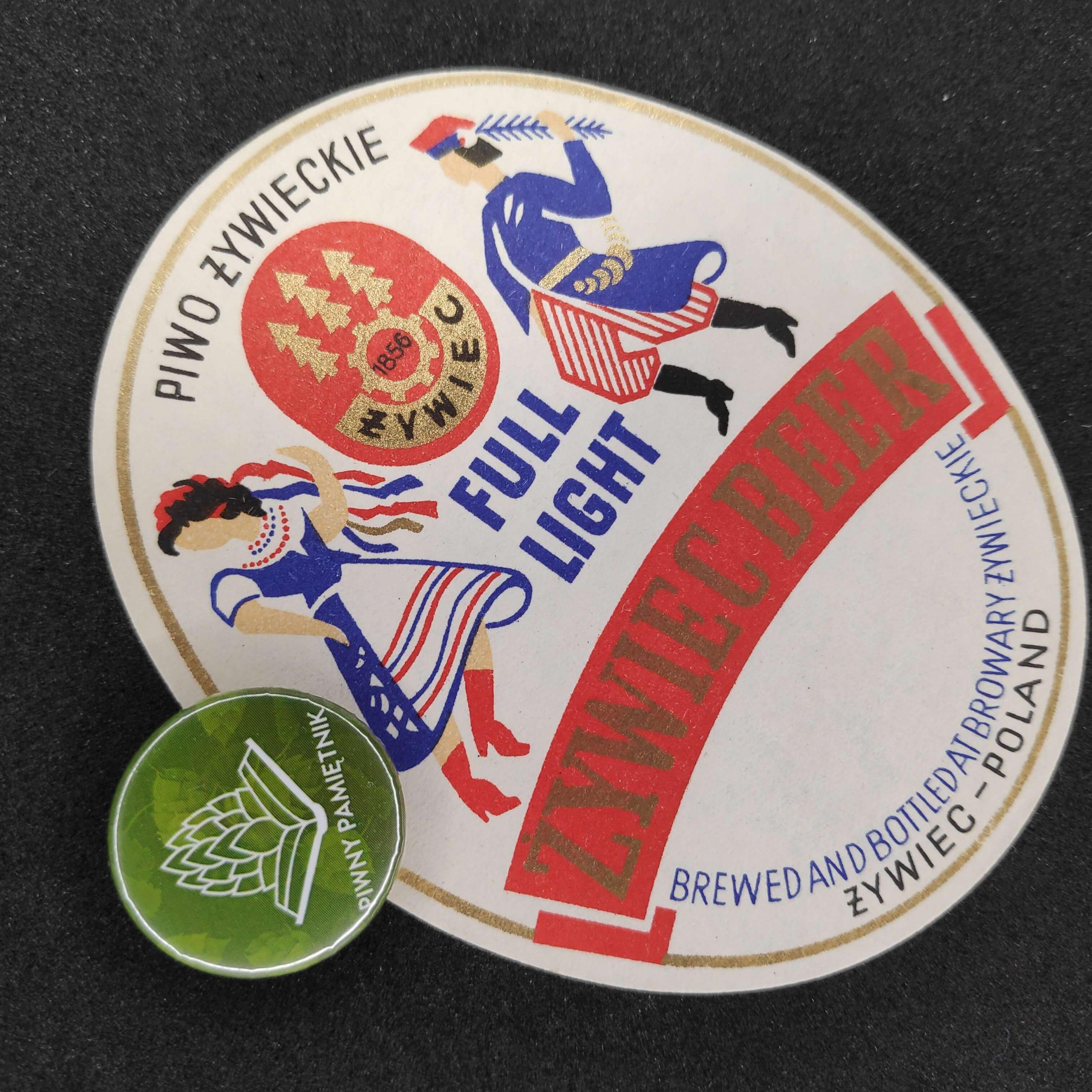 Zabytkowe Etykiety Polskich Piw #0010: Browar Żywiec #010