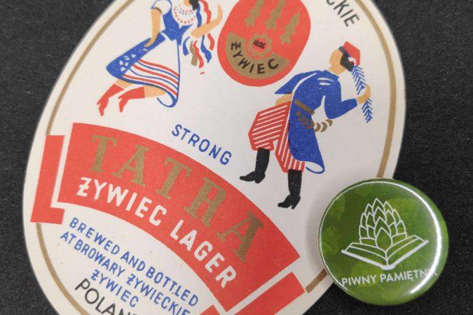 Zabytkowe Etykiety Polskich Piw #0011: Browar Żywiec #011