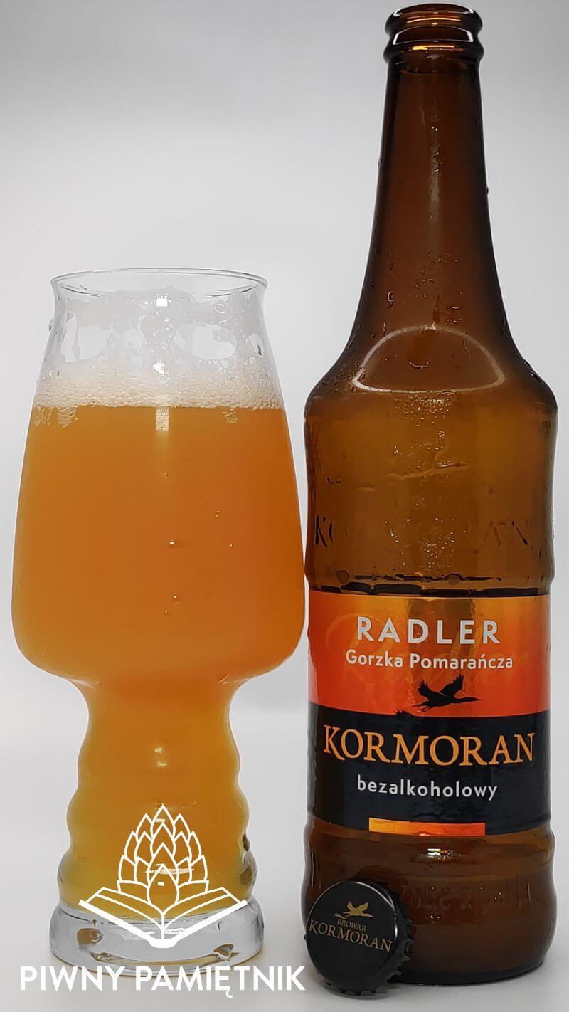 Radler Gorzka Pomarańcza z Browaru Kormoran
