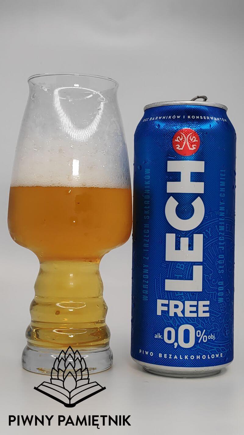 Lech Free 0,0% z Kompani Piwowarskiej