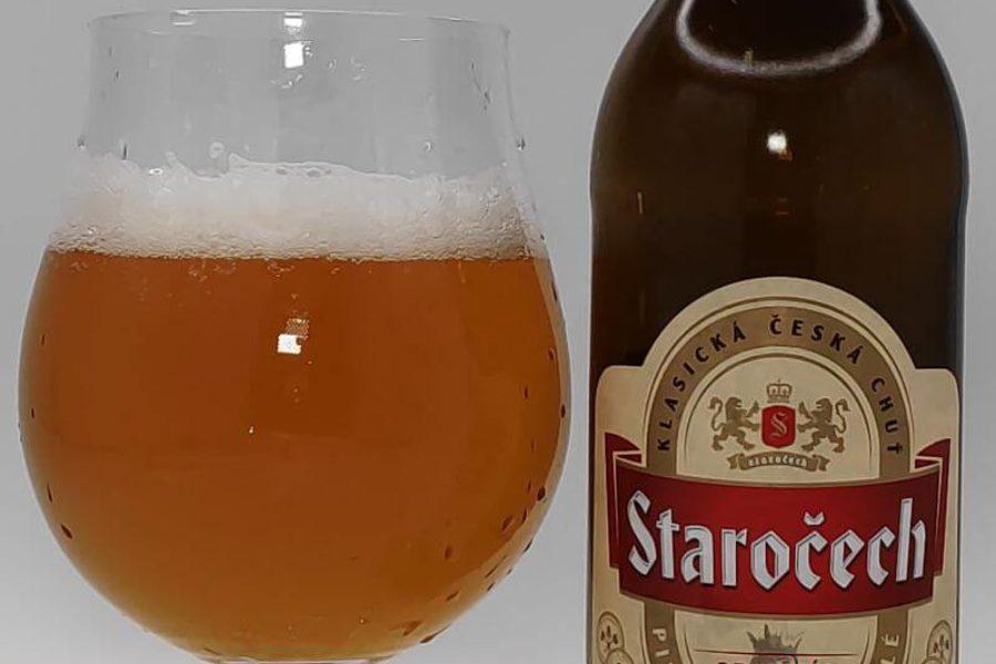 Staročech Original Světlé Výčepní Pivo z Browaru Pivovar Nymburk (Nymburk – Czechy)