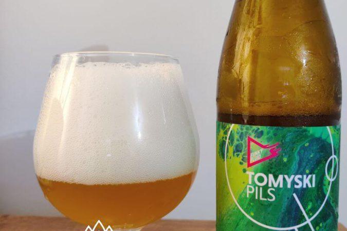 Tomyski Pils z Browaru Funky Fluid
