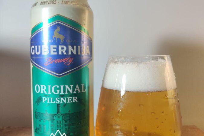 Original Pilsner z Browaru Gubernija (Szawle – Litwa)