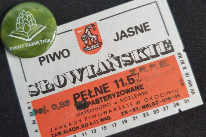Zabytkowe Etykiety Polskich Piw #0019: Browar Okocim #006