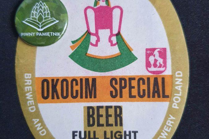 Zabytkowe Etykiety Polskich Piw #0027: Browar Okocim #014