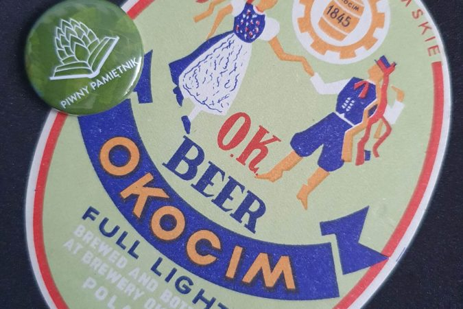 Zabytkowe Etykiety Polskich Piw #0025: Browar Okocim #012