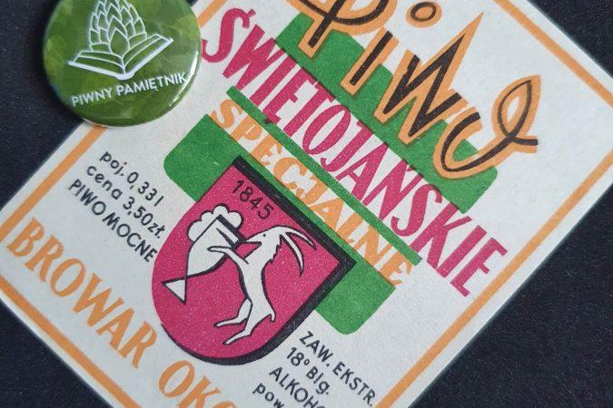 Zabytkowe Etykiety Polskich Piw #0032: Browar Okocim #019