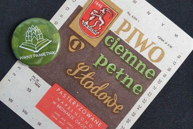 Zabytkowe Etykiety Polskich Piw #0033: Browar Okocim #020