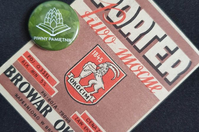 Zabytkowe Etykiety Polskich Piw #0038: Browar Okocim #025