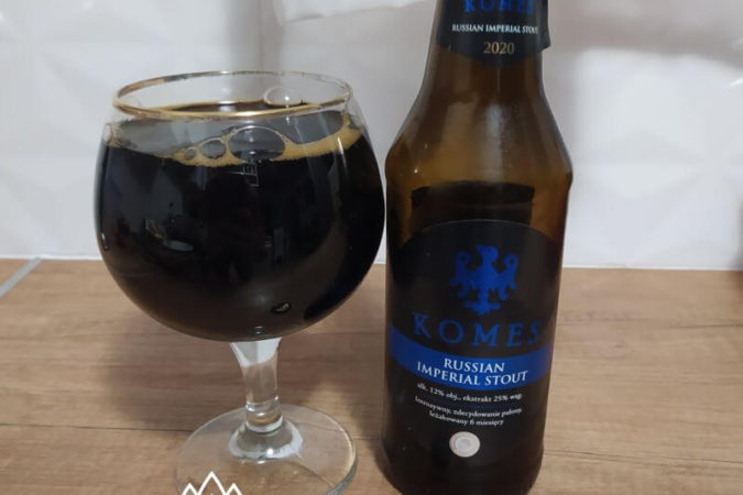 Komes Russian Imperial Stout 2020 z Browaru Fortuna