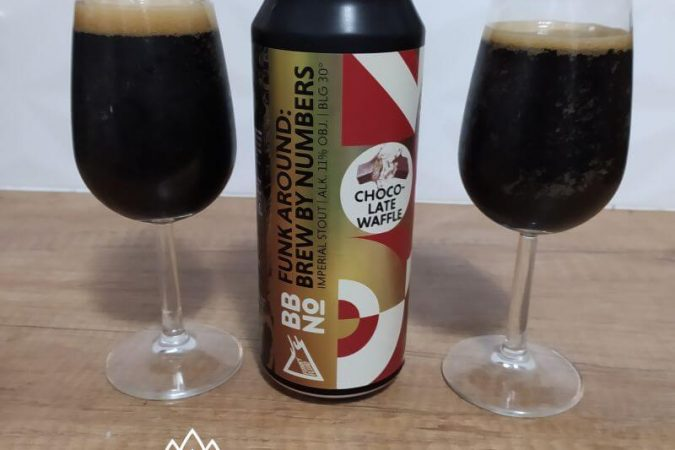 Funk Around: Brew By Numbers Chocolate Waffle z kooperacji Browaru Funky Fluid i Browaru Brew By Numbers (Bermondsey – Anglia)