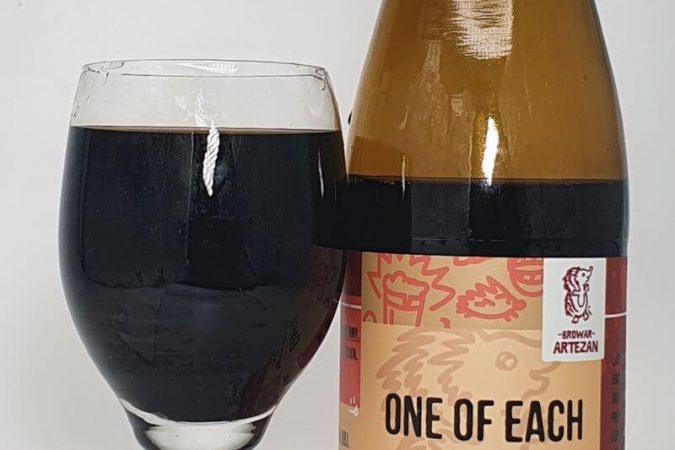 One Of Each Kawa Honduras El Encino & Suszone Wiśnie Bourbon Barrel Aged z Browaru Artezan