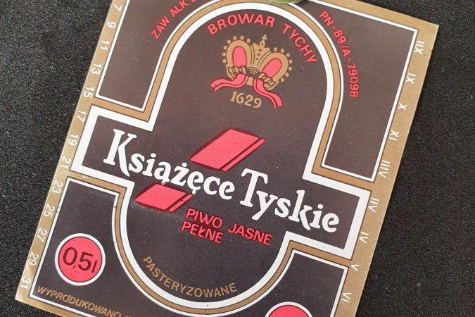 Zabytkowe Etykiety Polskich Piw #0042: Browar Książęcy w Tychach #004