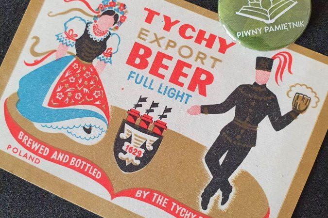 Zabytkowe Etykiety Polskich Piw #0047: Browar Książęcy w Tychach #009