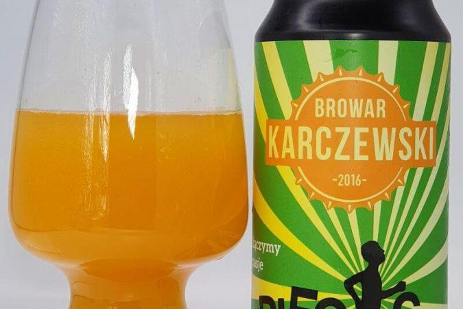 Biegacz z Browaru Karczewski