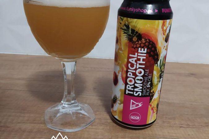 Tropical Smoothie: Pomegranate, Tangerine & Peach z kooperacji Browaru Funky Fluid I Browaru Nook