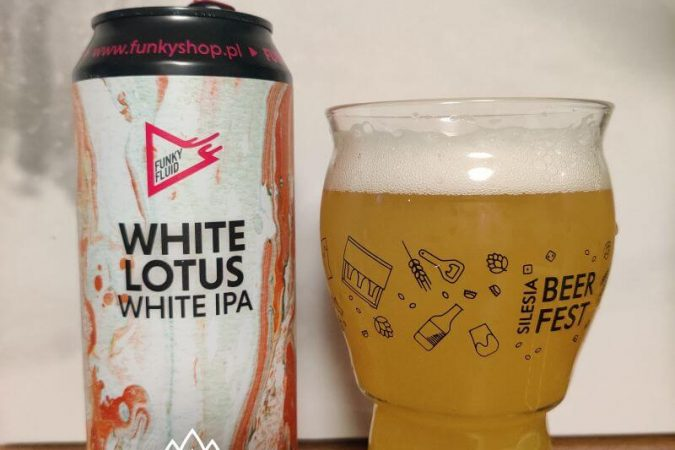 White Lotus z Browaru Funky Fluid