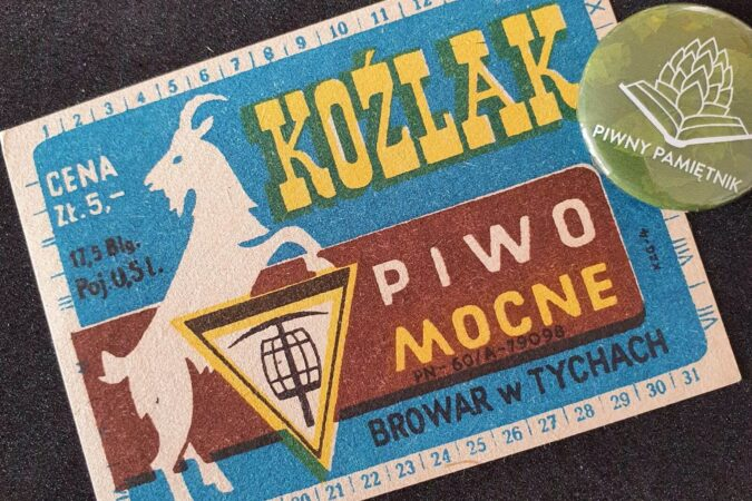 Zabytkowe Etykiety Polskich Piw #0061: Browar Książęcy w Tychach #022