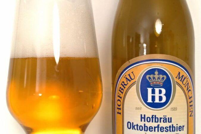 Hofbräu München Oktoberfestbier z Browaru Staatliches Hofbräuhaus München (Monachium – Niemcy)