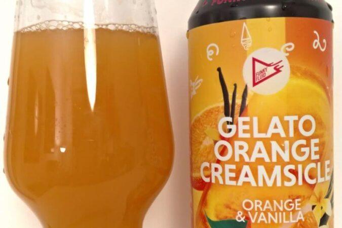 Gelato: Orange Creamsicle z kooperacji Browaru Funky Fluid i Browaru MØM Brewers (Portugalia) oraz Festiwalu Artbeerfest Caminha (Caminha – Portugalia)