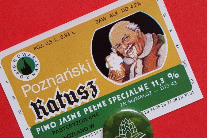 Zabytkowe Etykiety Polskich Piw #0066: Browar Poznań #001